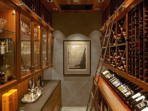 Wine Cellar: Sunroom