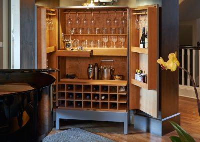 Ostmo Construction & Rockwood Cabinetry - Fortner Remodel