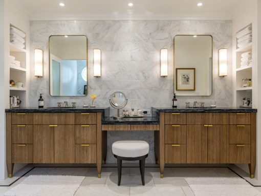 Stunning SW Powder and Master Bathrooms